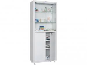 Металлический шкаф медицинский HILFE MD 2 1670/SG купить на выгодных условиях в Рязани