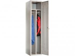 Шкаф металлический для одежды ПРАКТИК LS(LE)-11-40D купить на выгодных условиях в Рязани
