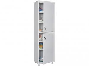 Металлический шкаф медицинский HILFE MD 1 1650/SS купить на выгодных условиях в Рязани