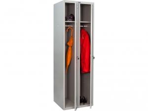 Шкаф металлический для одежды ПРАКТИК LS(LE)-21 купить на выгодных условиях в Рязани