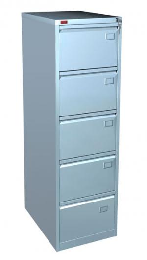 Шкаф металлический картотечный КР - 5 купить на выгодных условиях в Рязани