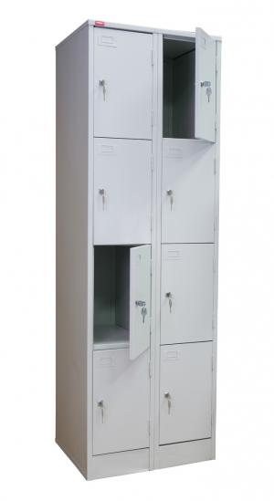 Шкаф металлический для сумок ШРМ - 28 купить на выгодных условиях в Рязани