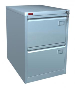 Шкаф металлический картотечный КР - 2 купить на выгодных условиях в Рязани