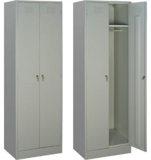 Шкаф металлический для одежды ШРМ - 22 купить на выгодных условиях в Рязани