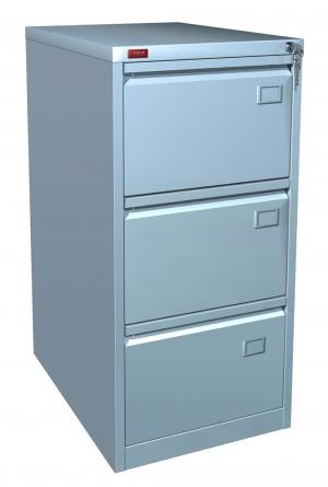 Шкаф металлический картотечный КР - 3 купить на выгодных условиях в Рязани