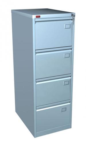 Шкаф металлический картотечный КР - 4 купить на выгодных условиях в Рязани