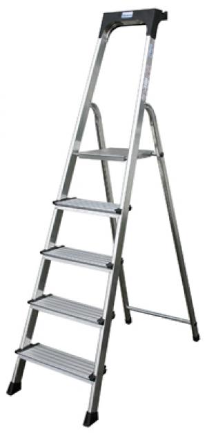Лестница стремянка Secury 7 ступеней купить на выгодных условиях в Рязани