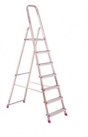 Лестница стремянка Corda 7 ступеней купить на выгодных условиях в Рязани
