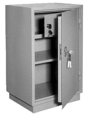 Шкаф металлический для хранения документов КБ - 011т / КБС - 011т купить на выгодных условиях в Рязани