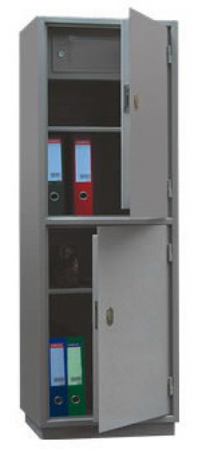 Шкаф металлический для хранения документов КБ - 23т / КБС - 23т купить на выгодных условиях в Рязани