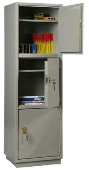 Шкаф металлический для хранения документов КБ - 033 / КБС - 033 купить на выгодных условиях в Рязани