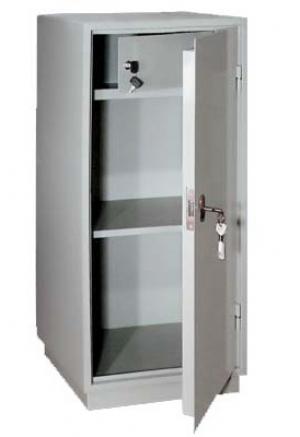 Шкаф металлический для хранения документов КБ - 041т / КБС - 041т купить на выгодных условиях в Рязани
