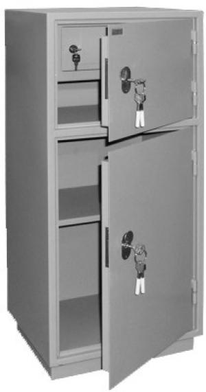 Шкаф металлический для хранения документов КБ - 042т / КБС - 042т купить на выгодных условиях в Рязани
