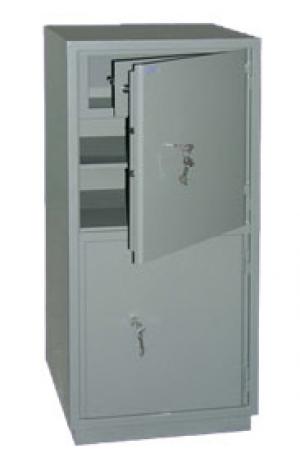 Шкаф металлический бухгалтерский КС-2Т купить на выгодных условиях в Рязани