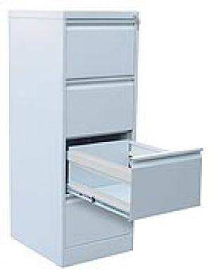Шкаф металлический картотечный ШК-4 (4 замка) купить на выгодных условиях в Рязани