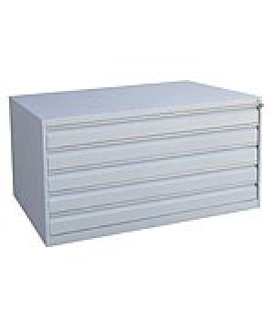 Шкаф металлический картотечный ШК-5-А0 купить на выгодных условиях в Рязани