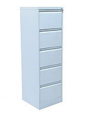 Шкаф металлический картотечный ШК-5 (5 замков) купить на выгодных условиях в Рязани