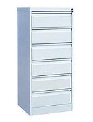 Шкаф металлический картотечный ШК-6(A5) 6 замков купить на выгодных условиях в Рязани