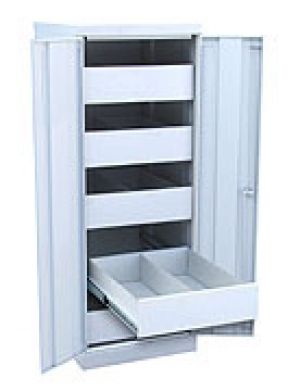 Шкаф металлический картотечный ШК-5-Д2 купить на выгодных условиях в Рязани