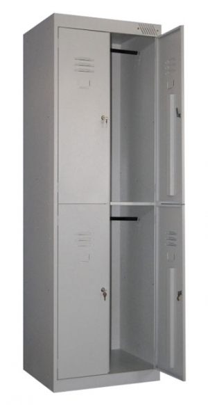 Шкаф металлический для одежды ШРK-24-600 купить на выгодных условиях в Рязани