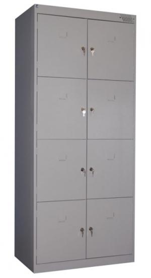 Шкаф металлический для сумок ШРК-28-800 купить на выгодных условиях в Рязани