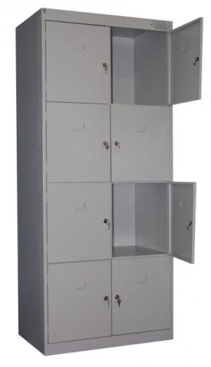 Шкаф металлический для сумок ШРК-28-600 купить на выгодных условиях в Рязани