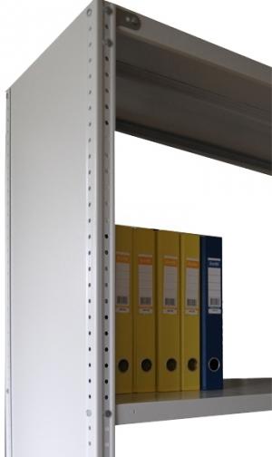 Стенка усиленная 100\30 для металлического стеллажа купить на выгодных условиях в Рязани