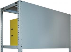 Стенка усиленная 50\100 для металлического стеллажа купить на выгодных условиях в Рязани