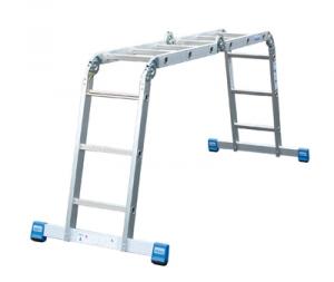 Лестница стремянка шарнирная STABILO 4х3