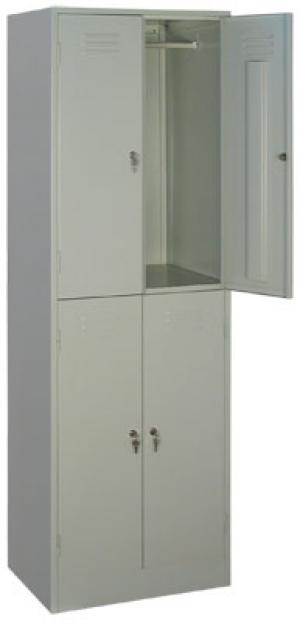 Шкаф металлический для одежды ШРМ - 24 купить на выгодных условиях в Рязани