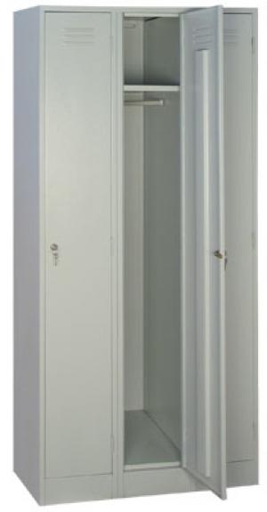 Шкаф металлический для одежды ШРМ - 33 купить на выгодных условиях в Рязани
