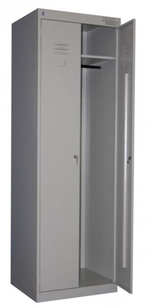 Шкаф металлический для одежды ШРК-22-600 купить на выгодных условиях в Рязани