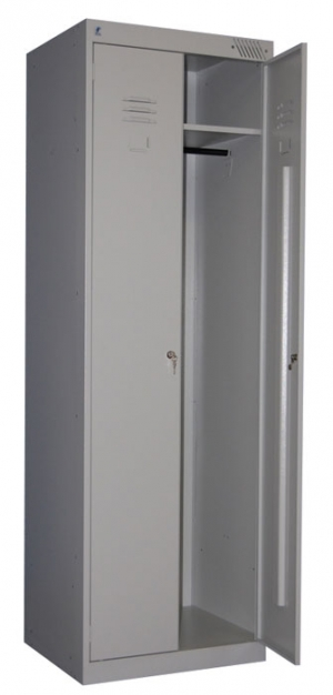 Шкаф металлический для одежды ШРК-22-800 купить на выгодных условиях в Рязани