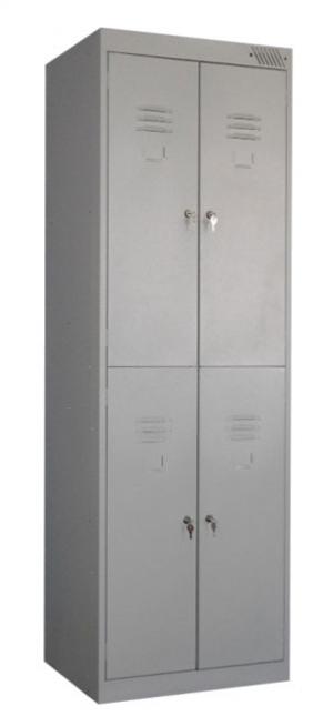 Шкаф металлический для одежды ШРK-24-600