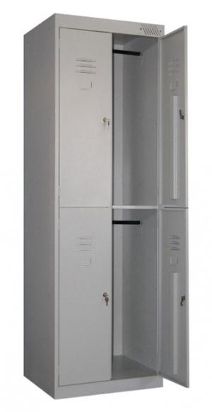 Шкаф металлический для одежды ШРK-24-800 купить на выгодных условиях в Рязани